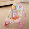 เปลโยก Rocking Baby Bouncer Newborn-to-Toddler Rocker Bunny (สีชมพู)