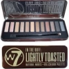 w7 Eye Colour Palette สี IN THE BUFF : LIGHTLY TOASTED