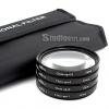 Close Up Filter +1+2+4+10 Size 58mm ชุด 4 ชิ้น พร้อมกระเป๋าอย่างดี
