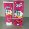 WOW EE Cream SPF50+++ พัฒนาสูตรจากญี่ปุ่น มีส่วนผสมของสารสกัดจากดอกซากุระ บำรุงผิวให้นุ่ม