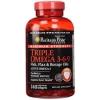 Puritan's Pride Maximum Strength Triple Omega 3-6-9 Fish, Flax & Borage Oils 240 Softgels