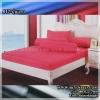 ผ้าปูที่นอนสีพื้น (สีปูนแดง)(พื้นเรียบ) ขนาด 6 ฟุต 5 ชิ้น