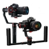 FeiyuTech α2000 3-Axis Gimbal for Mirrorless, DSLR Cameras Complete Set with Double Handle