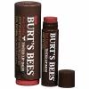 Burt's Bees Tinted Lip Balm # สี Red Dahlia ลิปบาล์ม ปกป้องและถนอมเรียวปากสวยให้มีสีสันแลดูมีสุขภาพดี