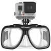 Octomask รุ่น Standard Clear เป็นหน้ากากดำน้ำเลนส์คู่สำหรับกล้อง GoPro Hero4,Hero3+,Hero3,Hero2