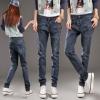 LW5710008 กางเกงยีนส์สาวเกาหลี big size ทรงฮาเล็ม (พรีออเดอร์)รอ 3 อาทิตย์หลังชำระเงิน