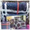 ผ้าปูที่นอนสไตล์โมเดิร์น เกรด A ขนาด 3.5 ฟุต(3 ชิ้น)[AS-072]