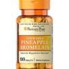 Puritan's Pride Pineapple Bromelain Chewables 40 mg / 100 Tablets