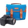 กระเป๋ากล้องสะพายข้าง สีฟ้า BR-01 สำหรับกล้อง DSLR