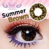 Summer Brown Dreamcolor1เลนส์นิ่มใส่สบาย คอนแทคเลนส์ ขายส่งคอนแทคเลนส์ ขายส่งBigeye Bigeyeเกาหลี
