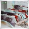 ผ้าปูที่นอนเกรด A ขนาด 6 ฟุต(5 ชิ้น)[AA-006]