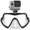Octomask รุ่น Frameless Black เป็นหน้ากากดำน้ำเลนส์เดี่ยวสำหรับกล้อง GoPro Hero4,Hero3+,Hero3,Hero2