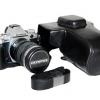 Case หนัง สีดำ สำหรับกล้อง OLYMPUS OMD EM5 Mark II