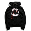 SAINT LAURENT VAMPIRE BLACK HOODIES