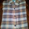 เสื้่อเชิ๊ตลายสก๊อตสีน้ำตาล ราคา 150 บาท