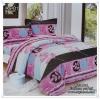 ผ้าปูที่นอนสไตล์โมเดิร์น เกรด A ขนาด 5 ฟุต(5ชิ้น)[AS-127]