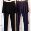Megurumi กางเกงกระโปรงเลคกิ้ง สไตล์ญี่ปุ่น