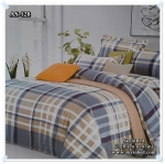 ผ้าปูที่นอนสไตล์โมเดิร์น เกรด A ขนาด 5 ฟุต(5ชิ้น)[AS-128]