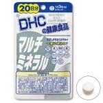 DHC Multi Mineral 20วัน 60เม็ด รวมแร่ธาตุที่จำเป็นต่อร่างกาย แข็งแรงแน่นอน