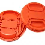 ฝาปิดหน้าเลนส์บีบกลาง สีส้ม 52 mm