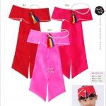 Hanbok hat หมวกฮันบกสำหรับเด็ก 3-5 ขวบ สีแดง