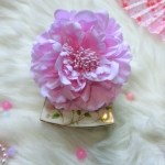Flower Hair Accessories ดอกไม้ประดับผมสีชมพูอมม่วง