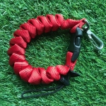 CRL3HD-RED Cetacea Housing Heavy Duty Coiled Lanyard สีแดง