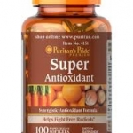 Puritan's Pride Super Antioxidant Formula/100 Softgels