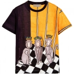 เสื้อยืด Dolce & Gabbana - Monkey King Print T-Shirt