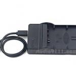 แท่นชาร์จแบตเตอรี่ USB สำหรับ SONY NP-BX1 ใช้กับกล้อง SONY หลายรุ่น