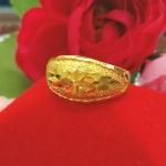 แหวนหุ้ม ทองคำแท้รหัส JR091 เบอร์ 57