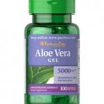 Puritan's Pride Aloe Vera Extract 25 mg/ 100 Softgels