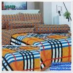 ผ้าปูที่นอนสไตล์โมเดิร์น เกรด A ขนาด 5 ฟุต(5ชิ้น)[AS-019]