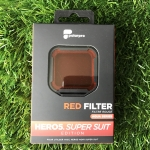 POLARPRO RED FILTER GOPRO HERO5 สำหรับใส่ HOUSING SUPER SUIT - Red Filter แก้ไขสีใต้น้ำสำหรับน้ำลึก 15 to 75 feet