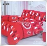 ผ้าปูที่นอน ลายกราฟฟิค เกรด AA ขนาด 5 ฟุต(5 ชิ้น)[AA-129]