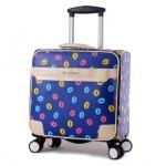 กระเป๋าเดินทางใบเล็ก รุ่น colorful ขนาด 16 นิ้ว