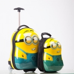 กระเป๋าเดินทางมินเนี่ยน เซ็ตคู่ เป้สะพายหลังมินเนี่ยน+กระเป๋าเดินทางล้อลากมินเนี่ยน ราคาถูกสุดๆ