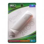 BLL แบตสำรอง 2800 mAh USB 1A - สีเทา