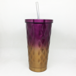 Colorful Straw cup