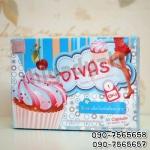 คัพเค้ก ดีวาส DIVAS Cupcake กล่องฟ้า ร้านไฮยาดี้ทีเค