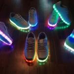 รองเท้า LED Simulation Shoes ไซส์ 35