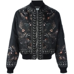 GIVENCHY SCREECHING MONKEY BOMBER JACKET