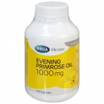 Mega We Care Evening Primrose Oil (น้ำมันอีฟนิ่งพริมโรส) 1000 mg 100 แคปซูล