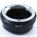 อแดปเตอร์แปลงท้ายเลนส์ MD (MINOLTA) ใช้กับกล้อง FUJI X