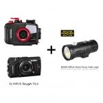 โปรโมชั่น Olympus TG5 + Housing PT-058 แลกซื้อไฟ X-Adventurer จากราคา 12,500 บาทเหลือ 9,900 บาท