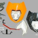 หน้ากากแต่ง หน้าสั้น KTM DUKE 200 / 390