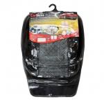 ถาดยางปูพื้นรถยนต์ PVC แบบ 5 ชิ้น (สีดำ) ไร้กลิ่น ขอบชัน กันน้ำได้ดี ทนทาน เพียง 700 บ.