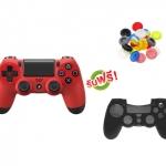 จอย PS4 Dual Shock 4 Red (ซิลิโคนอนาล็อก + ซิลิโคนจอย) [PS4/PC]