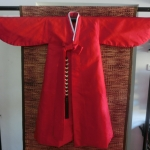 Hanbok Man (DURUMAGI) ฮันบกชายผ้าไหมเกาหลีแดง