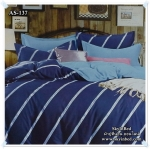 ผ้าปูที่นอนสไตล์โมเดิร์น เกรด A ขนาด 3.5 ฟุต(3 ชิ้น)[AS-137]